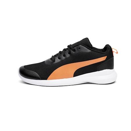 Lazer Evo IDP Shoes, Puma Black-Vibrant Orange, small-IND