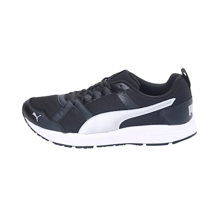 Dreton IDP Men's Sneakers, Black-Puma Silver-White, small-IND