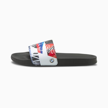BMW M Motorsport Graphic Leadcat Sandals, P Black-P White-HighRisk Red, small-GBR