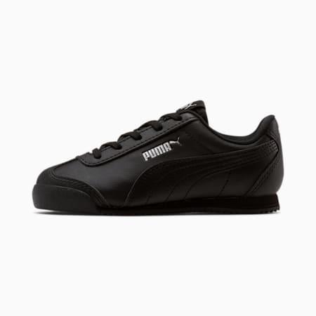 Turino Leather Little Kids' Shoes, Puma Black-Puma Black, small