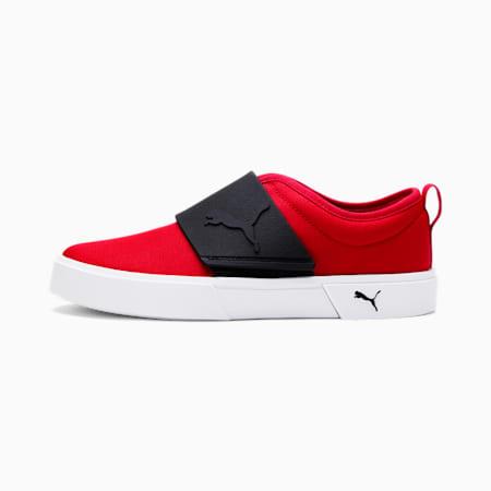 El Rey Canvas Slip-On Shoes JR, High Risk Red-Puma Black, small