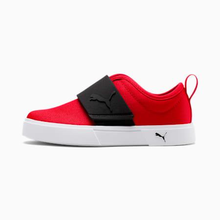 El Rey II Canvas Little Kids' Slip-On Shoes, High Risk Red-Puma Black, small