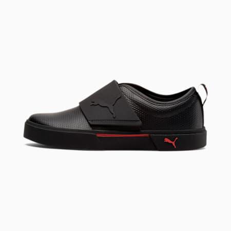 El Rey II Kids' Slip-On Shoes JR, Puma Black-High Risk Red, small