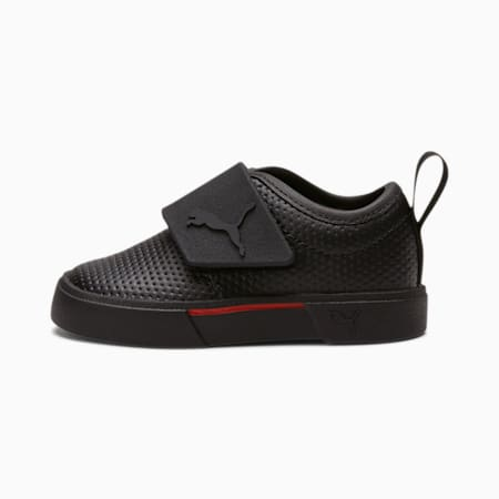 El Rey II Toddler Slip-On Shoes, Puma Black-High Risk Red, small