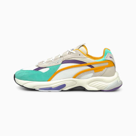RS-Connect Drip Sneaker, Biscay Green-Puma White, small