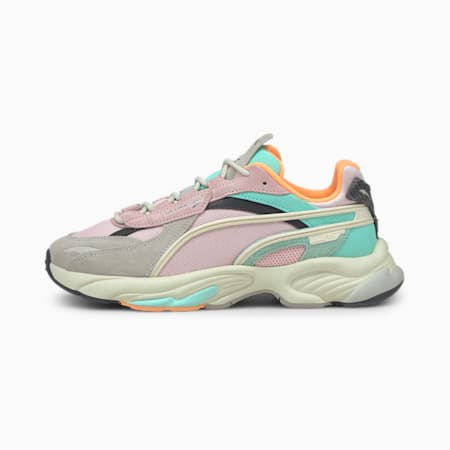 RS-Connect Drip Sneaker, Gray Violet-Pink Lady, small