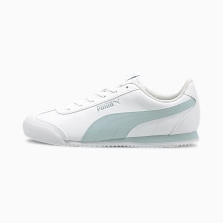 Turino Leather Women's Sneakers, Puma White-Plein Air, small