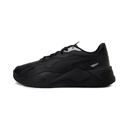 RS-X3 Perf Sneakers, Black-Black-Silver, small-IND