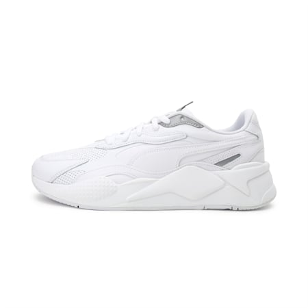 RS-X3 Perf Sneakers, White-White-Silver, small-IND