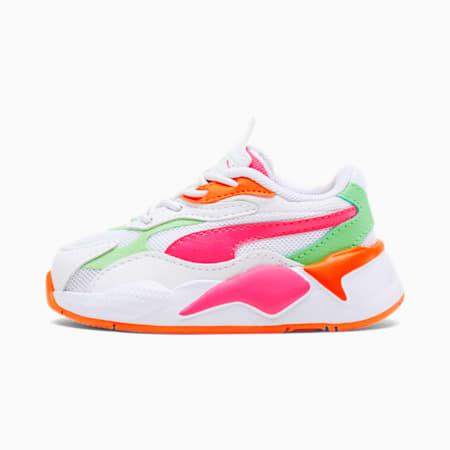 ZapatosRS-X³ Crazypara bebés, P.White-Glow.Pink-Smer Green, pequeño