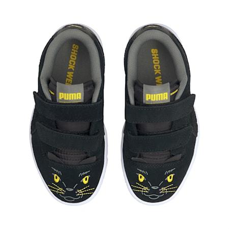 Ralph Sampson Lo Animal Kinder Sneaker, Puma Black-Puma Black, small