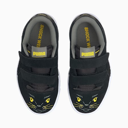 Ralph Sampson Lo Animal sneakers kinderen, Puma Black-Puma Black, small