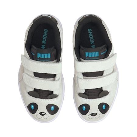 Ralph Sampson Lo Animal Kinder Sneaker, Puma White-Puma White, small