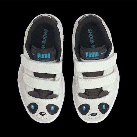 キッズ ラルフ サンプソン ロウ アニマルズ V PS スニーカー 17-21cm, Puma White-Puma White, small-JPN