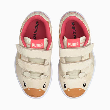 Ralph Sampson Lo Animal Kids' Trainers, Eggnog-Eggnog, small
