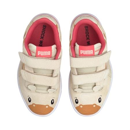 Ralph Sampson Lo Animal Kinder Sneaker, Eggnog-Eggnog, small