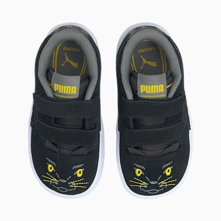 Ralph Sampson Lo Animals Baby Sneaker, Puma Black-Puma Black, small