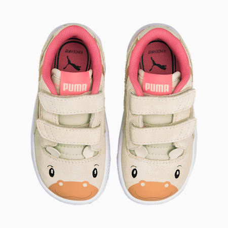 Ralph Sampson Lo Animals Babies' Trainers, Eggnog-Eggnog, small-GBR