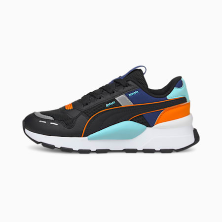 RS 2.0 Arcade Amuse Youth Shoes, Puma Black-Angel Blue, small-IND