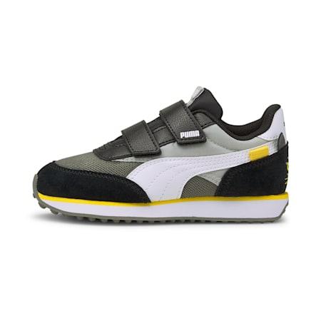 Future Rider Animals V sneakers kinderen, Gray Violet-Puma White, small
