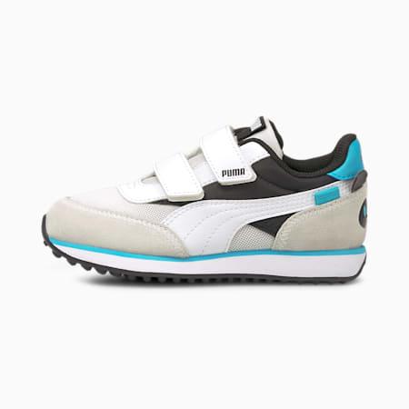 Future Rider Animals V Kinder Sneaker, Puma Black-Puma White, small