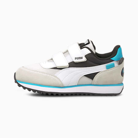 Future Rider Animals V sneakers kinderen, Puma Black-Puma White, small