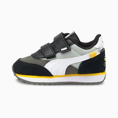 Future Rider Animals V Baby Sneaker, Gray Violet-Puma White, small