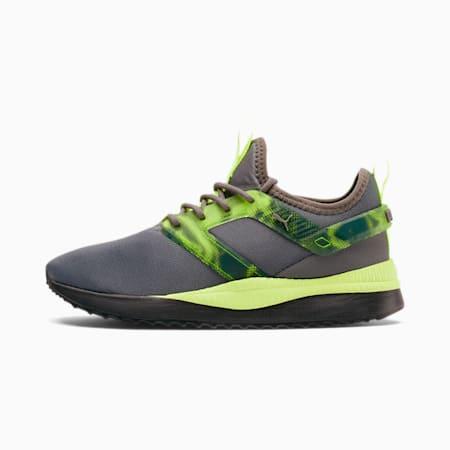 Pacer Next Excel Tech Sneakers JR, CASTLEROCK-FizzyYellow-Black, small