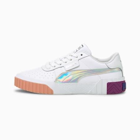 Zapatos deportivos Cali BubblesJR, Puma White-Byzantium, pequeño