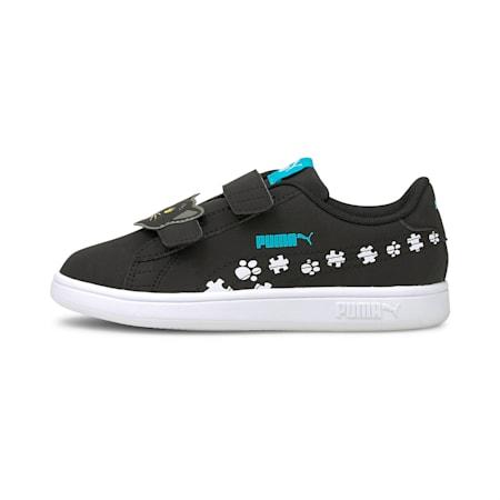 Smash v2 Summer Animals Kinder Sneaker, Puma Black-Puma White, small