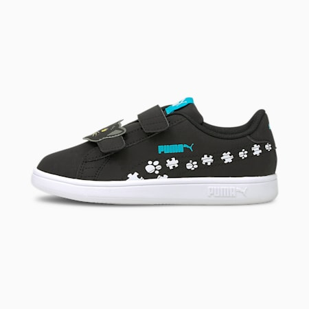Smash v2 Summer Animals Kids' Shoes, Puma Black-Puma White, small-IND