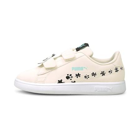 Smash v2 Summer Animals Kinder Sneaker, Eggnog-Puma Black, small