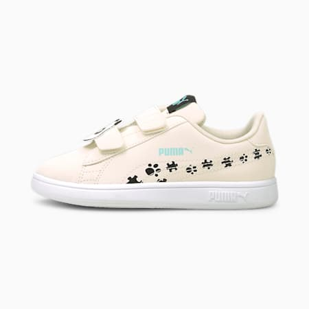 Smash v2 Summer Animals Kids' Shoes, Eggnog-Puma Black, small-IND