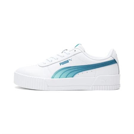 Carina Jelly Girls' Sneakers JR, PW-ARUBA BLUE-Digi-blue, small