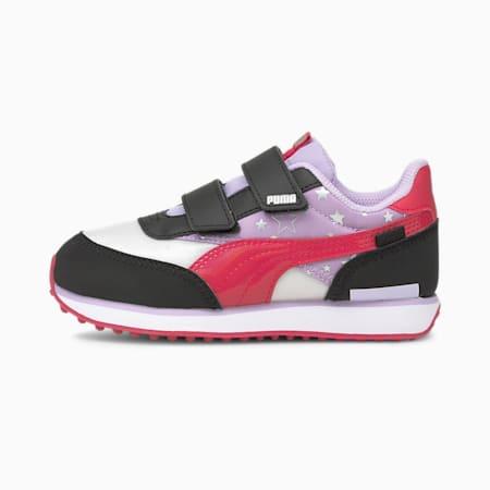Future Rider Unicorn sneakers kinderen, Light Lavender-Virtual Pink, small
