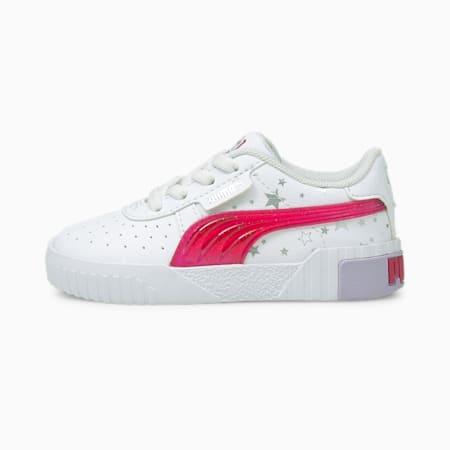 Cali Unicorn Baby Sneaker, Puma White-Virtual Pink, small