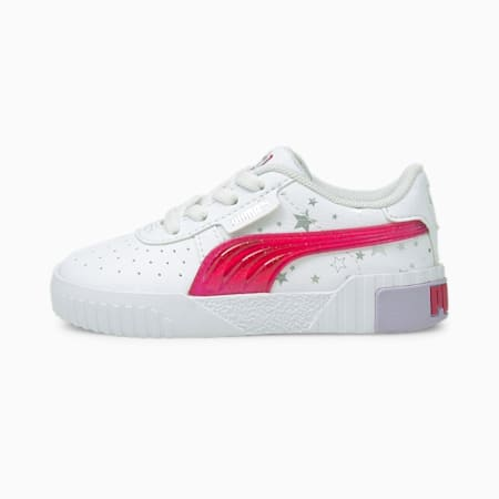 Niemowlęce buty sportowe Cali Unicorn, Puma White-Virtual Pink, small