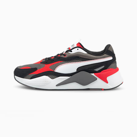RS-X³ Twill Air Mesh Sneaker, CASTLEROCK-Poppy Red, small
