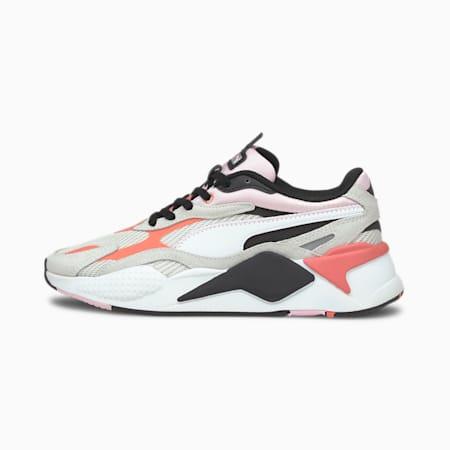 RS-X³ Twill Air Mesh Shoes, Nimbus Cloud-Georgia Peach, small-IND
