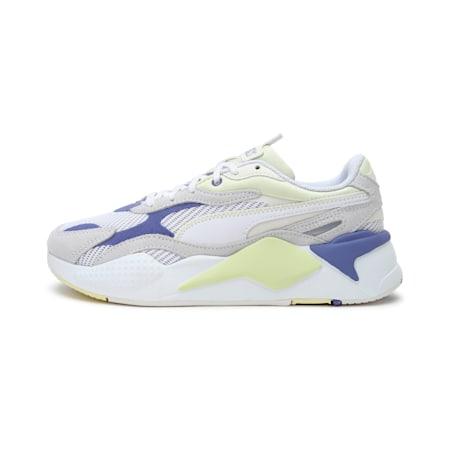 RS-X³ Twill Air Mesh Shoes, Puma White-Hazy Blue, small-IND