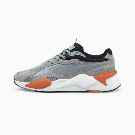 RS-X³ Twill Air Mesh Trainers, Quarry-Quarry, small