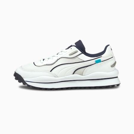 Style Rider JOMO sneakers, Puma White-Peacoat, small