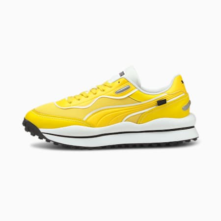 Style Rider JOMO Shoes, Maize-Puma White, small-IND