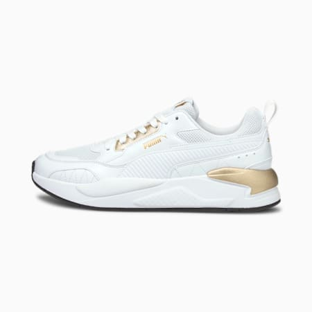 X-Ray² Square Metallic Shoes, Whi-Whi-Puma Team Gold-Black, small-IND