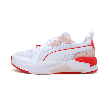 X-Ray Game Valentine's Women's Shoes, White- White-Pink-Red, small-IND