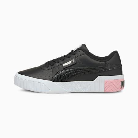 Baskets Cali enfants et adolescents, Puma Black-Pink Lady, small
