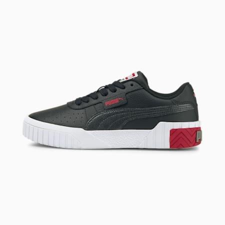 Baskets Cali enfants et adolescents, Puma Black-Persian Red, small