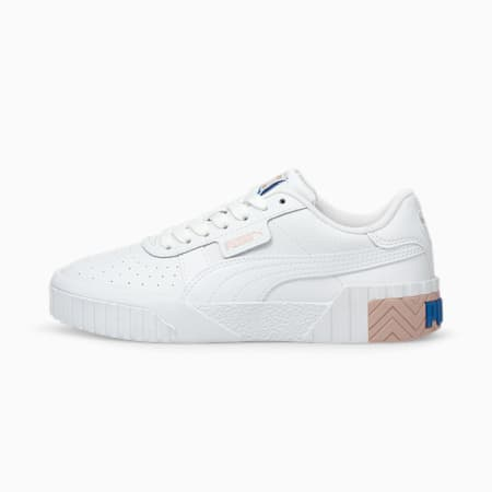 Cali Jugend Sneaker, Puma White-Lotus, small