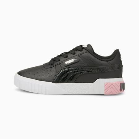 Zapatos Cali Little para niños, Puma Black-Pink Lady, pequeño