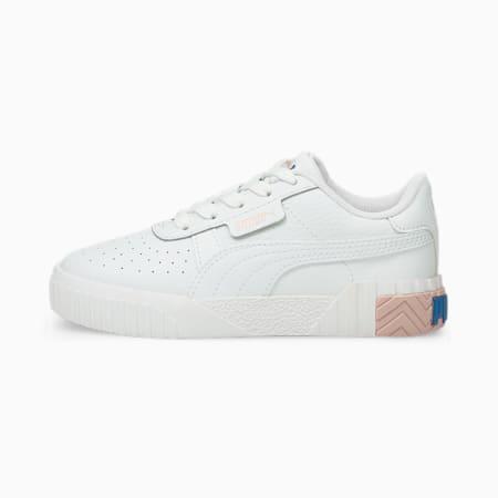 Scarpe da ginnastica Cali Kids, Puma White-Lotus, small